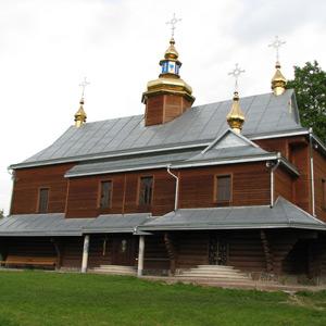 Церква Святого Миколая Чудотворця. с. Гвізд