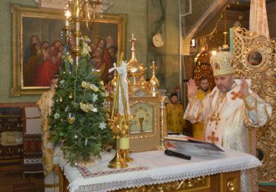 Архипастирський візит до Церкви Воздвиження Чесного Хреста 09.01.2017
