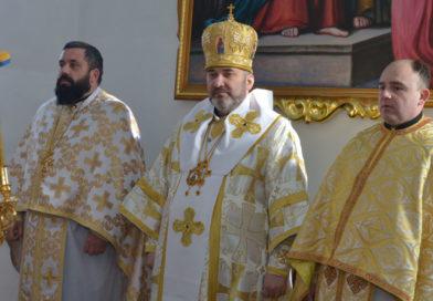 Освячення престолу у церкві Різдва Богородиці с. Молодків