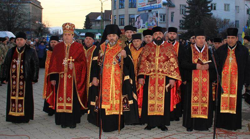 Надвірнянці вшанували героїв Небесної Сотні