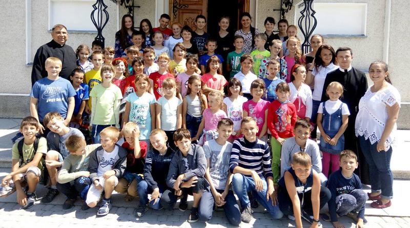 Веселі канікули із Богом в селі Верхній Майдан