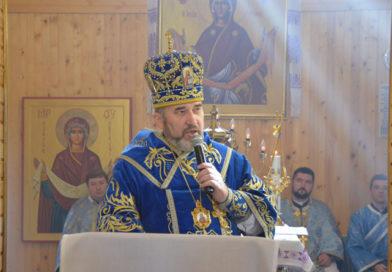 Архиєрейська Літургія в церкві Покрову Богородиці міста Надвірна (фото)