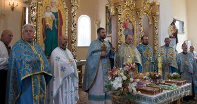Храмовий празник в с. Молодьків