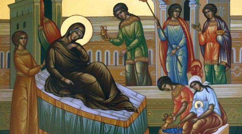 Іконографіка свята Різдва Богородиці