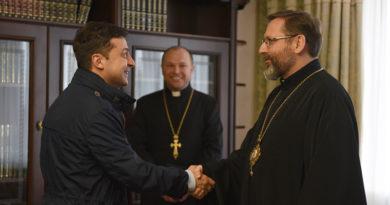 «Прийняте принципове рішення дати можливість звершувати пасхальні богослужіння та транслювати їх наживо», – Президент України до Глави УГКЦ