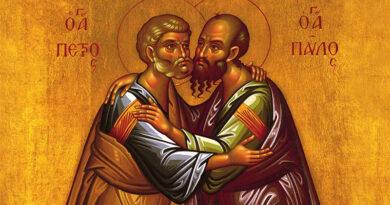 Проповідь на свято апостолів Петра та Павла