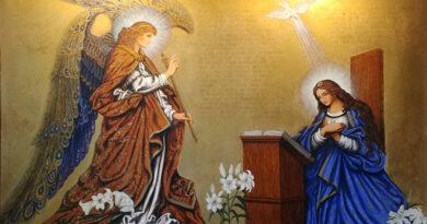 Проповідь на свято Благовіщення Діви Марії